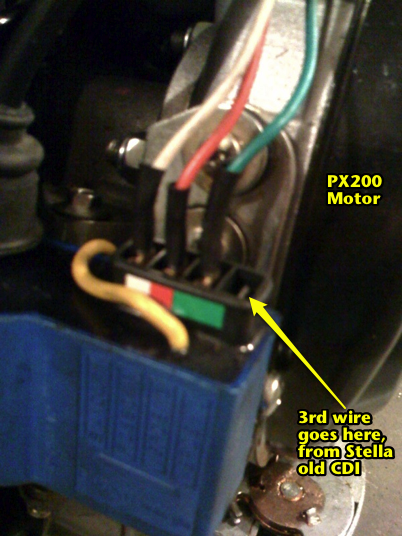 vespa px200e wiring diagram wiring diagram note although this bike looks very similat to a p200 there are small bodywork differences and